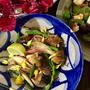 +*気仙沼のさんまの味噌煮缶詰で簡単 アジアン春雨サラダ+*