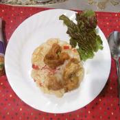 トムヤムクン味の炒飯