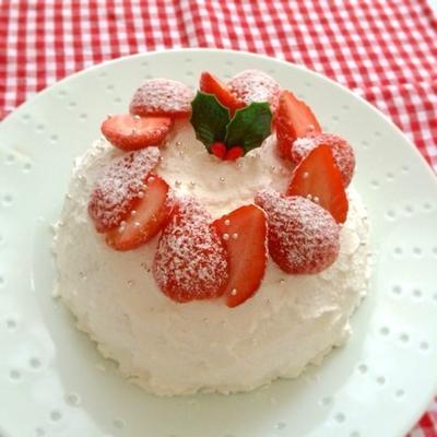 今から間に合う簡単クリスマスケーキ
