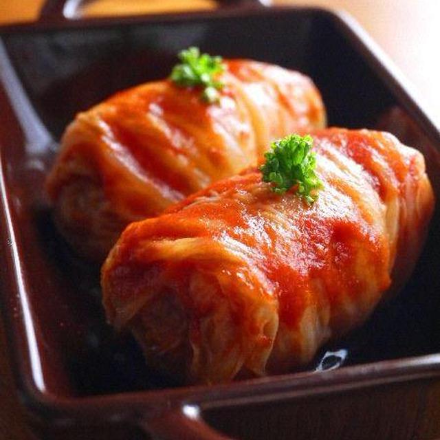 ロール白菜のトマト煮♪