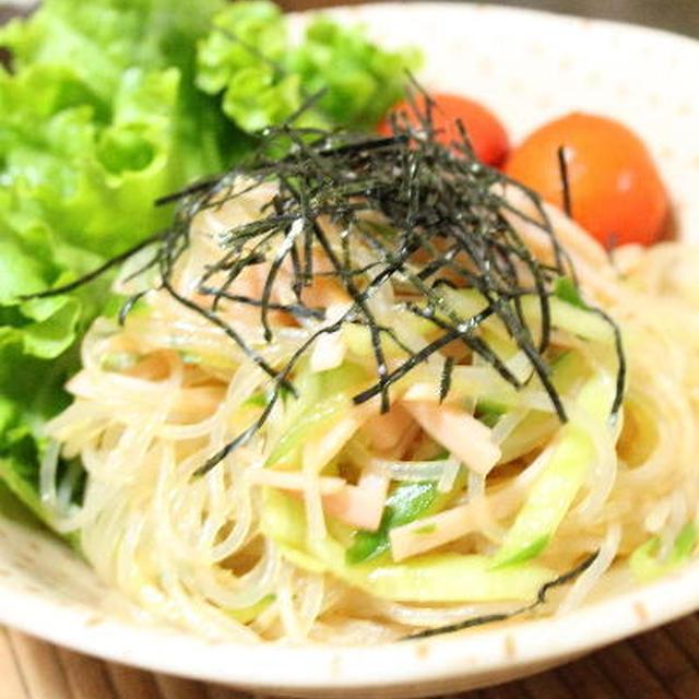 春雨の中華風サラダ レシピ