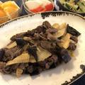 旬の香りと甘みを楽しむ!牛肉と筍のオイスター炒め