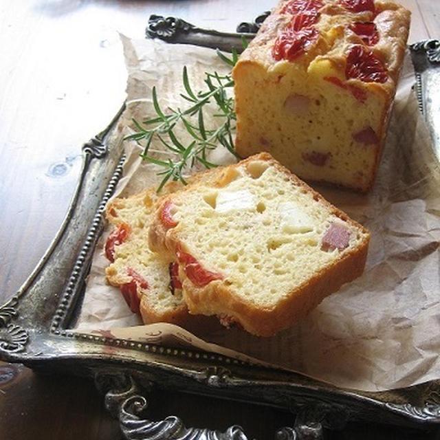 ベーコン、マッシュルーム、チーズのケーク・サレ & ありがとう♪