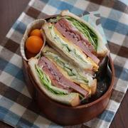 ボリュームサンドイッチ(๑¯﹃¯๑)♪