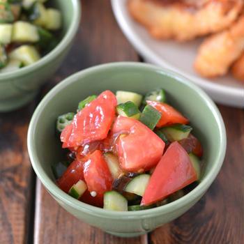 冷凍で簡単白身魚のフライと和えるだけの野菜ジュレ。【ベジファスで脂肪や糖のケア】