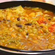 【鍋レシピ】ベジカレー鍋