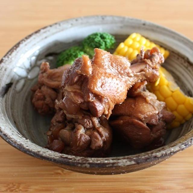 鶏手羽元のほろほろ黒酢煮