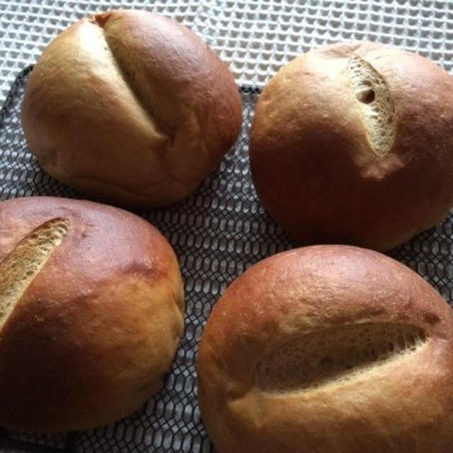 初チャレンジ。大豆粉ふすまパン作り