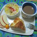 春キャベツとベーコンのココットオムレツの朝食 by masaさん