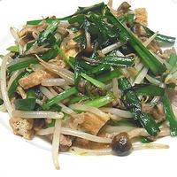 にらともやしの中華風炒めとささ身の梅紫蘇巻き弁当