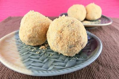 レンジ調理の「おから餅」は栄養豊富なおからをたっぷり使った簡単和菓子