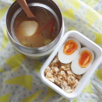 冬のスープジャー弁当|水炊き・ポタージュ・アクアパッツァ