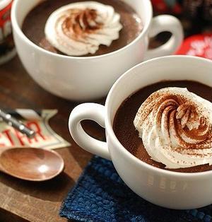 フライパンとマグカップで出来る♡とろける口どけ♡簡単!チョコレートプリン