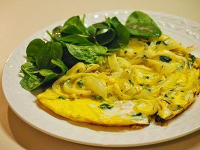 カマンベールと野菜の卵焼き