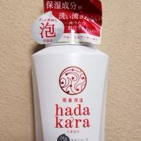 【モラタメ】hadakaraボディソープ 泡で出てくるタイプ / ライオン