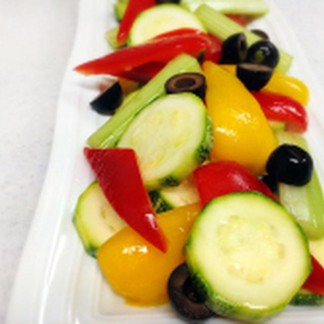 夏野菜のアジア風ピクルス