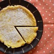 ヘルシー!「フライパンで豆腐チーズケーキ」