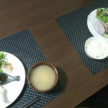 魅力全開!蒸し塩イノブタ\(^-^)/