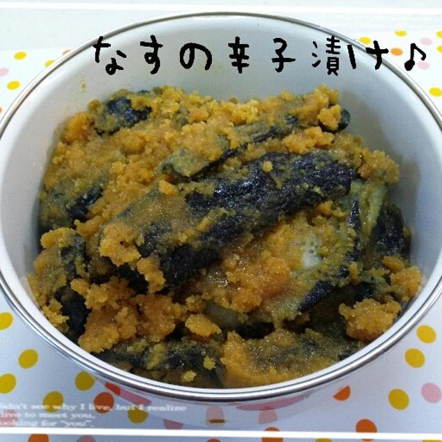 漬け 作り方 の の 辛子 なす 簡単美味しい!失敗なしのなす漬けで~す。 レシピ・作り方