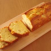 中までしっとりほんわり美味♪簡単りんごのパウンドケーキ(リンゴ倍増まる1個分☆)
