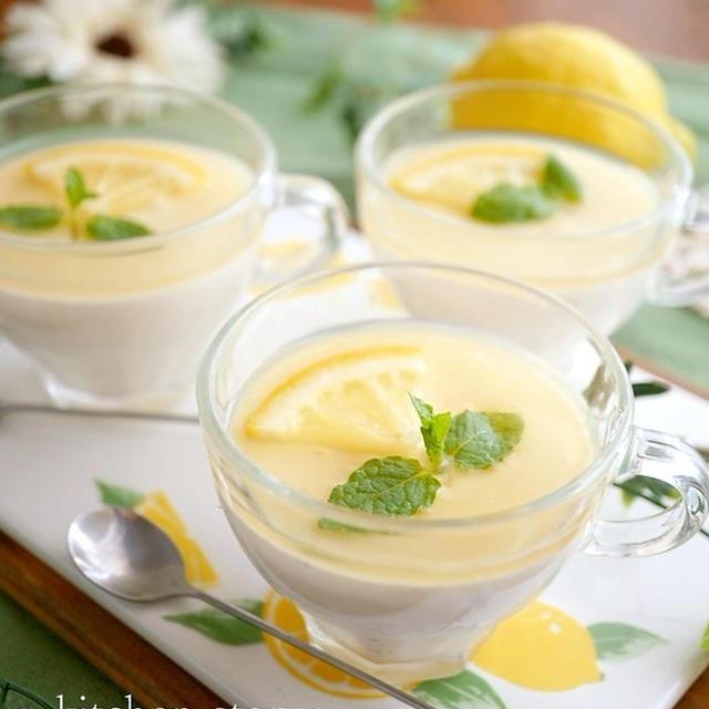 低糖質スイーツ♪とうふの蜂蜜レモン★レアーチーズムース