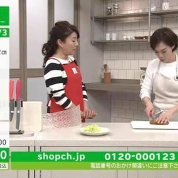 【出演】ショップチャンネル マイヤー様Light Knife Setご紹介しました