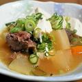 豆腐と大根の味噌煮