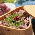 【梅干しレシピ】かりかり小梅とひじきのシンプル雑穀ご飯とカリカリ小梅の薔薇梅の作り方。