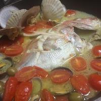 パスタに合う魚スープ