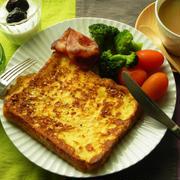 忙しい朝に。カルボナーラ風フレンチトースト