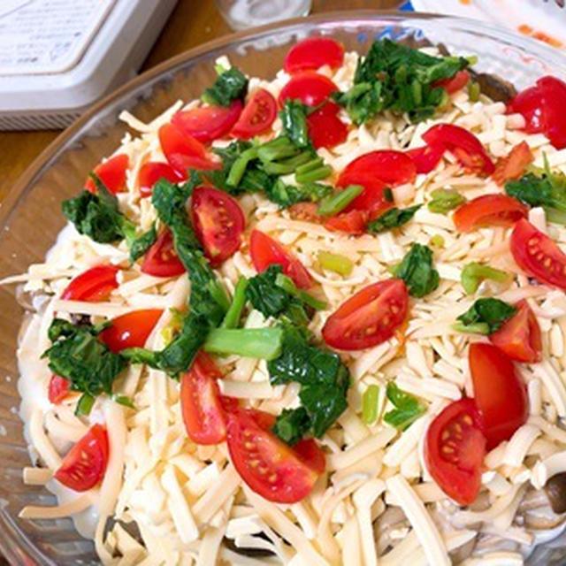 旬野菜ときのこのグラタン