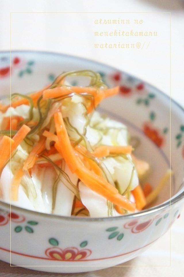 するめいか入りの白菜柚漬