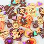 チョコでお絵描きクッキー