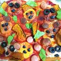 ハロウィンピザ(作りおき)