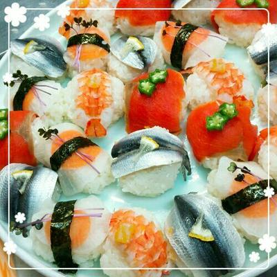 ✿七五三のお祝いにも!見栄え最高♥手まり寿司と謎の入隊の話✿