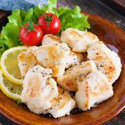 むね肉のガーリック塩焼き【#作り置き #お弁当 #ノンオイル #主菜 #和風】