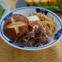 【モニター】砂糖、みりん不要でヘルシー!甘酒めんつゆすきやき肉豆腐