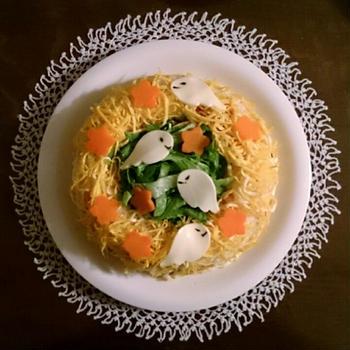 【レシピブログモニター】ハロウィンにぴったりお寿司レシピ*どろろんお化けのリングケーキ