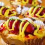 ホットケーキミックスで作る簡単ウィンナーパン!混ぜて焼くだけ!