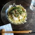 【簡単!!パスタ】豆腐のクリーミー冷製スパゲッティ