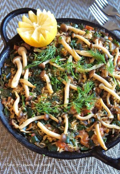 おうちでバル飯★ヴェルデ・パエーリャ 蛤の緑のパイエリア