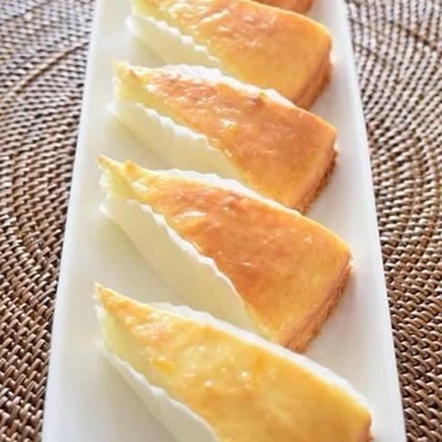 ホットケーキミックスで作る水切りヨーグルトケーキ