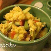 カリフラワーソテー カレー風味 マクロビオティックレシピ