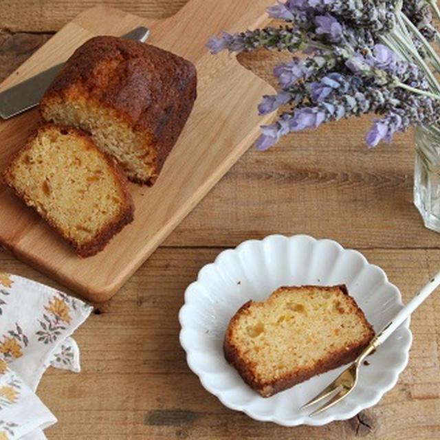 ホットケーキミックスで簡単♪マーマレードジャムのパウンドケーキ