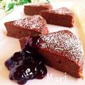 どっしり重量感✨しっとりもちもち✨お豆腐ケーキ