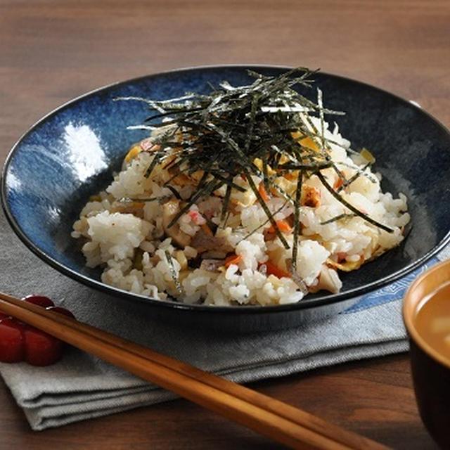 ちりめんたっぷり!お手軽混ぜ寿司。