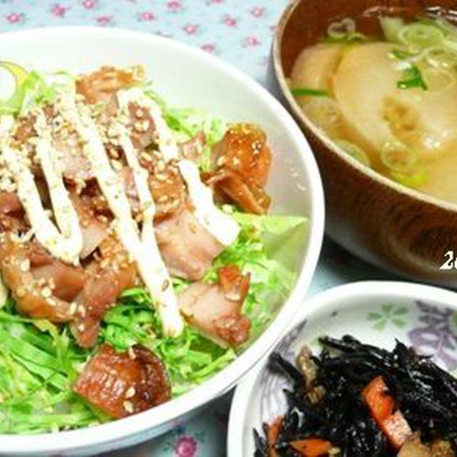 マヨチキン☆のっけご飯・・♪