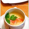 白だしde簡単あんかけ茶碗蒸し&ネギ塩焼肉~♪(レシピつき) by naoさん