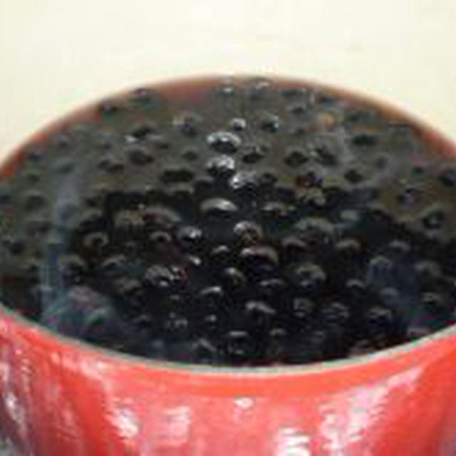 おなべひとつでふっくら黒豆