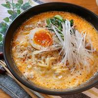 練りごま不要!10分で完成♡担々麺【#簡単レシピ#時短#節約#ラーメン】
